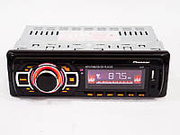 Автомагнитола Pioneer 1137 (copy) ISO MP3+USB+SS+FM+Aux+пульт 4x50W (4_497524462), фото 1