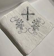 Крыжма для крещения sikel 100*100 серебро #S/H
