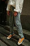 Штаны с надписями на штанинах, фото 3