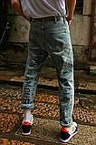 Штаны с надписями на штанинах, фото 4