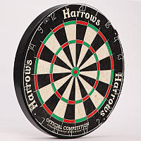 Мишень для игры в дартс из сизаля OFFICIAL COMPETITION DARTBOARD JE03D (d-45см)