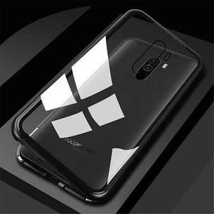 Магнитный чехол Full Glass 360 (Magnetic case) для Xiaomi Pocophone F1, фото 2