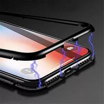 Магнитный чехол Full Glass 360 (Magnetic case) для Xiaomi Pocophone F1, фото 3