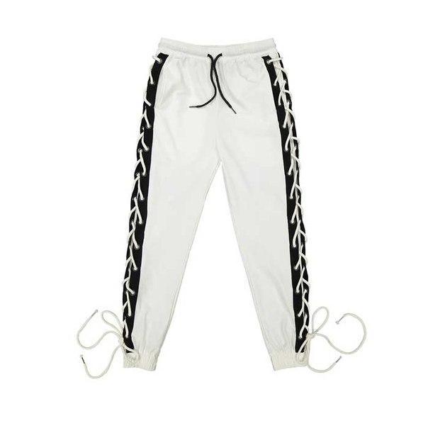 Легкие штаны с завязками по бокам