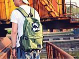 Рюкзак однотонный PLAY HARD, фото 2