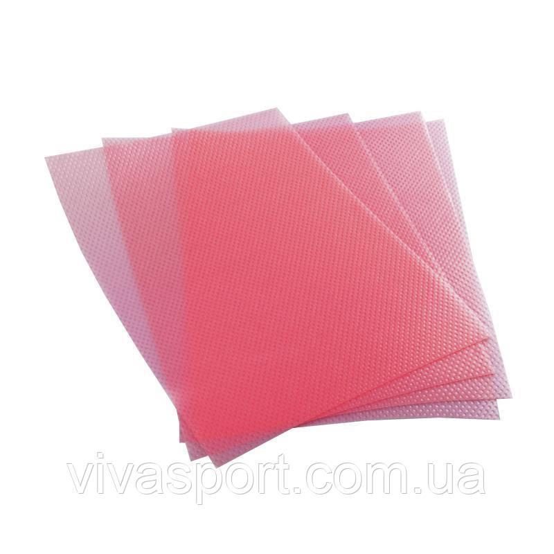 Антибактериальные коврики для холодильника 4 шт., розовый