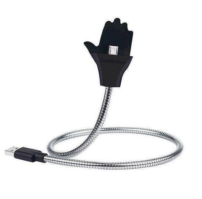 Металлический кабель ладонь Palms Cable micro Usb