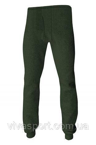 Термобелье - мужские термо-штаны, зеленый XL