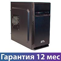 Корпус для ПК (системный блок) GTL 1607 Black, 400W, 120mm, Micro ATX / Mini ITX