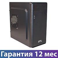 Корпус для ПК (системный блок) GTL 1609 Black, 400W, 120mm, Micro ATX / Mini ITX