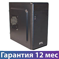 Корпус для ПК (системный блок) GTL 1609 Black, 500W, 120mm, Micro ATX / Mini ITX