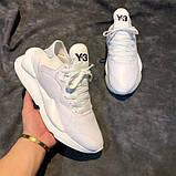 Модные кроссовки Y-3 Yohji Yamamoto на высокой пенной подошве, фото 2