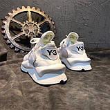 Модные кроссовки Y-3 Yohji Yamamoto на высокой пенной подошве, фото 3