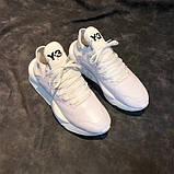 Модные кроссовки Y-3 Yohji Yamamoto на высокой пенной подошве, фото 4