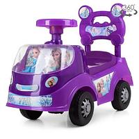 Каталка-толокар 318-9 фиолетового цвета,Фрозен
