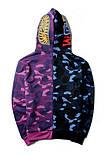Камуфляжная кофта на молнии AAPE, фото 2