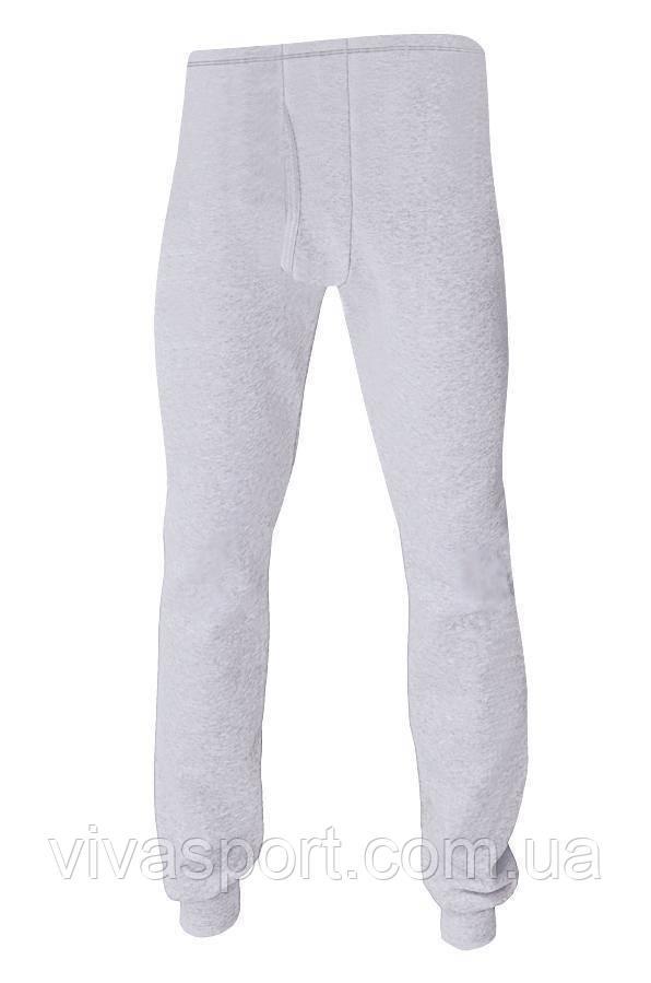 Термобелье - мужские термо-штаны, серый XXL