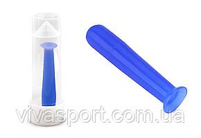 Съемник для линз в футляре голубой