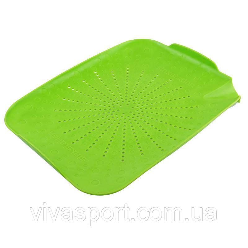 Пластиковий килимок-друшляк для раковини, зелений