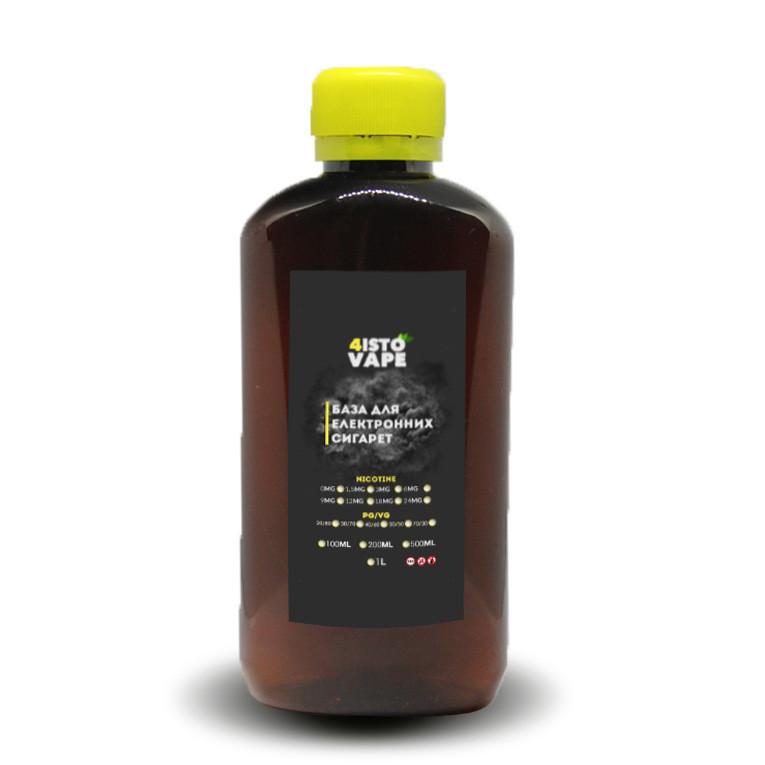База для электронных сигарет 4ISTO VAPE 70/30 0 мг 200 мл