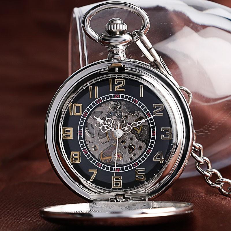 Механічні кишенькові годинники YISUYA №0062
