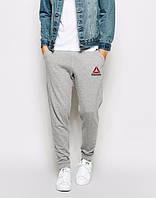 Теплые спортивные штаны, зимние штаны, зимние Теплые спортивные штаны, зимние штаны с манжетой Reebok, рибок, ф3549