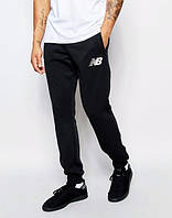 Теплые спортивные штаны, зимние штаны черные, , осенние New balance ф3520