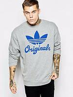 Теплая кофта, зимний свитшот Adidas Originals/Адидас оригиналс, Л49