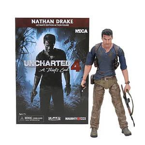 Фигурка NECA UNCHARTED 4 Nathan Drake PS4 Show Box