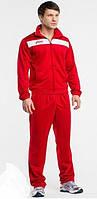 Зимний спортивный костюм, теплый костюм Asics, красный, с3028