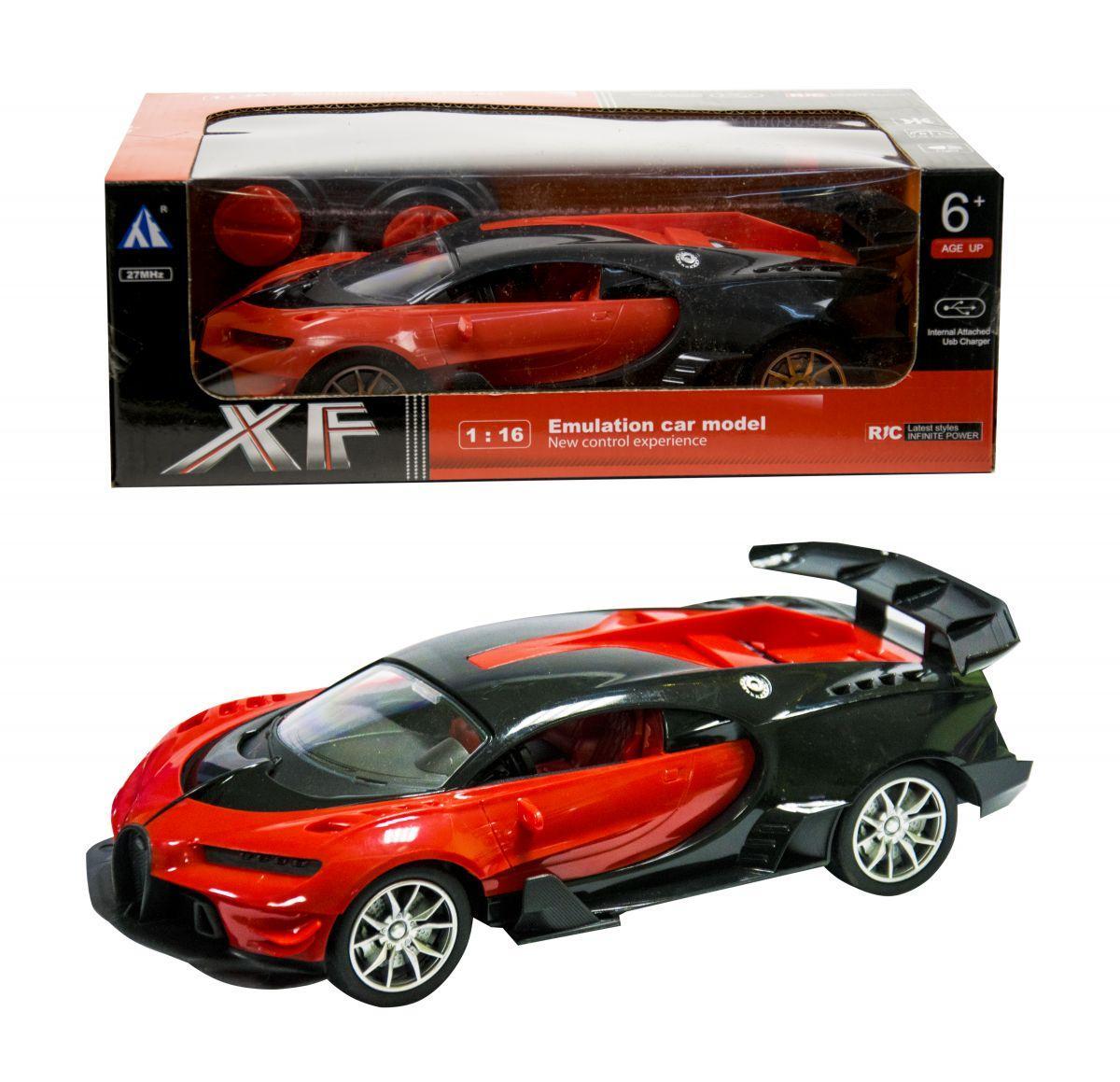 Машина на радиоуправлении, суперкар Bugatti, 27-19А