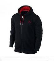 Зимний спортивный костюм, теплый костюм джордан, черный, кенгуру, с3319