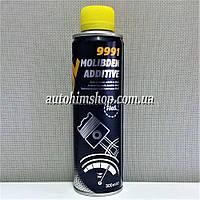 MANNOL 9991 Антифрикционная присадка в моторное масло с дисульфидом молибдена на 5л 300мл