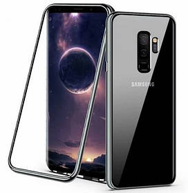 Магнитный чехол Full Glass 360 (Magnetic case) для Samsung Galaxy S9 Plus