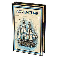 "Книга-сейф с кодовым замком ""Приключения"" (26х17х5 см.), фото 1"