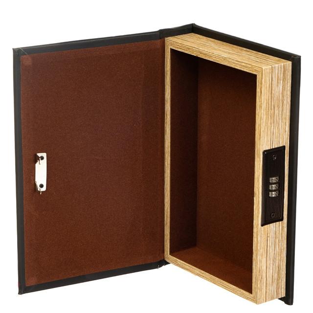 """Книга-сейф с кодовым замком """"Приключения"""""""