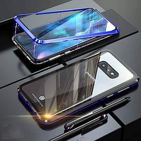 Магнитный чехол Full Glass 360 (Magnetic case) для Samsung Galaxy S10e