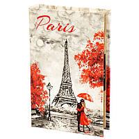 """Книга-сейф с кодовым замком """"Любовь в париже"""" (26*17*5 см.), фото 1"""