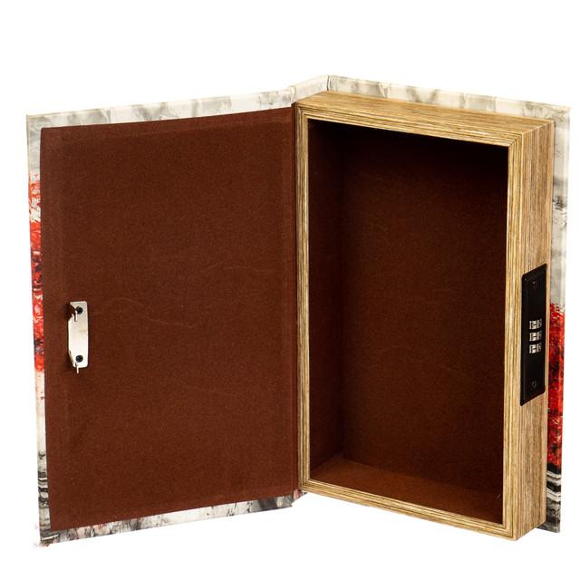 """Книга-сейф с кодовым замком """"Любовь в париже"""""""