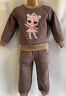 Детский спортивный костюм трехнитка оптом 92-116
