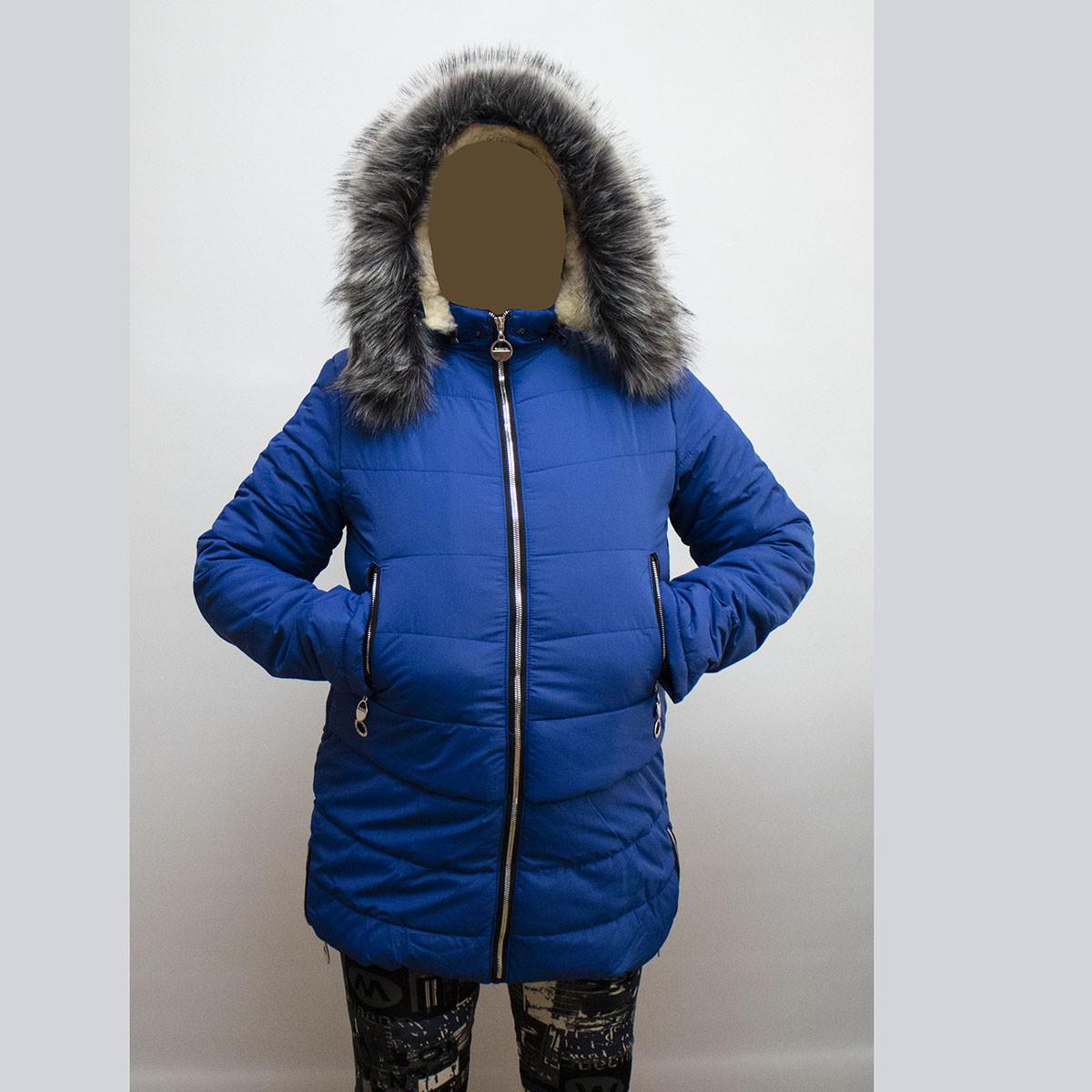 Куртка женская зимняя на овчинке по супер цене K850