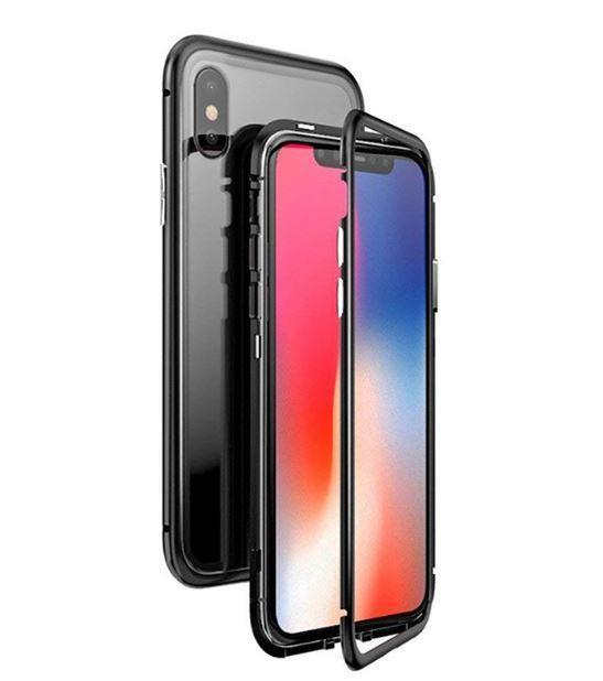 Магнитный чехол Full Glass 360 (Magnetic case) для Iphone X / XS