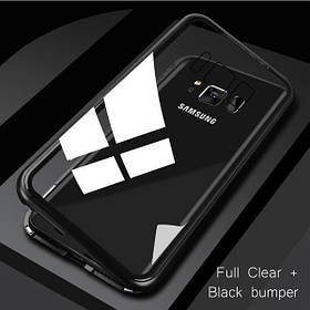 Магнитный чехол Full Glass 360 (Magnetic case) для Samsung Galaxy S8 Plus