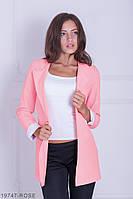 Жіночий кардиган Подіум Danielle 19747-ROSE XS Рожевий