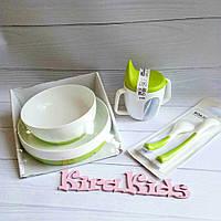 Набор посуды детской Икеа 5 предметов
