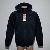 Теплая мужская куртка трехнитка на овчинке пр-во Турция т.м. Fore 5342, фото 1