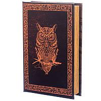 """Книга сейф на ключі """"Сова"""" (26*17*5 см.), фото 1"""