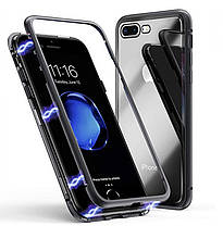 Магнитный чехол Full Glass 360 (Magnetic case) для Iphone 7 Plus / 8 Plus, фото 3