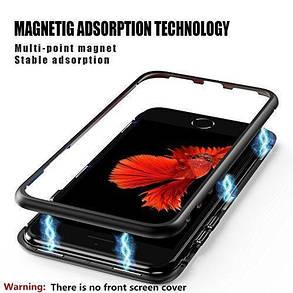 Магнитный чехол Full Glass 360 (Magnetic case) для Iphone 6 / 6s, фото 2