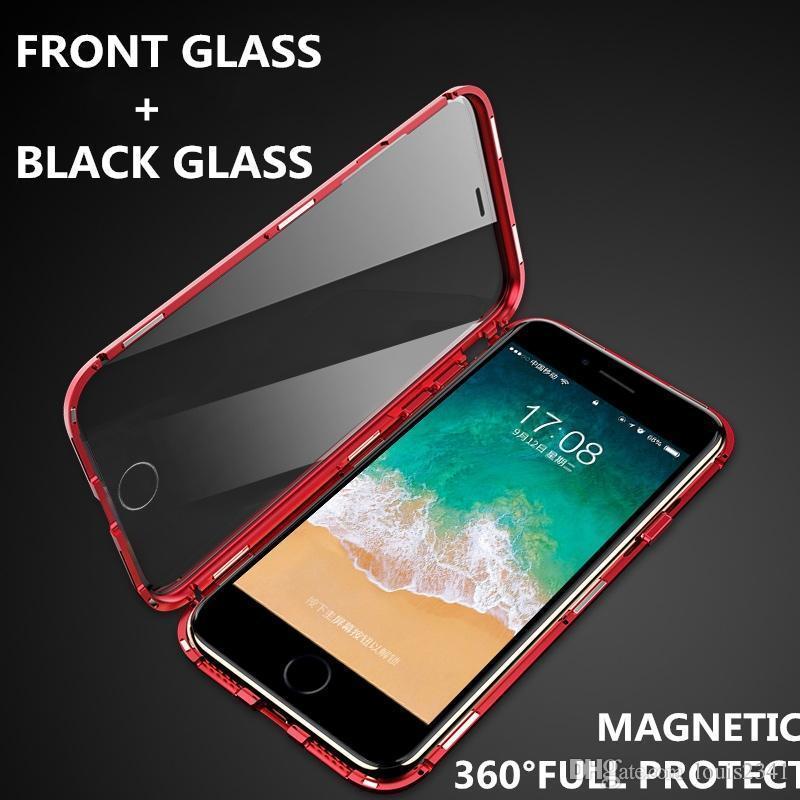 Магнитный чехол Full Glass 360 (Magnetic case) для Iphone 6 / 6s
